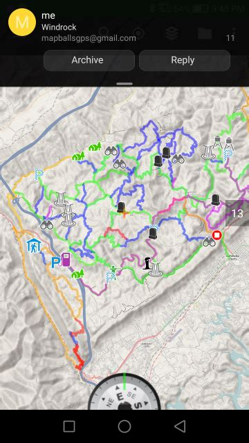 ATV trail maps for Windrock, TWRA Sundquist (Ride Royal