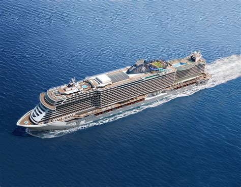Unveiled: The Futuristic New Cruise Ship Which Lets Guests