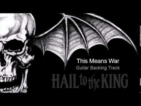 Avenged Sevenfold - This Means War (Guitar Backing Track