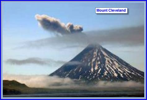 The Mount Cleveland Volcano Heats up Again