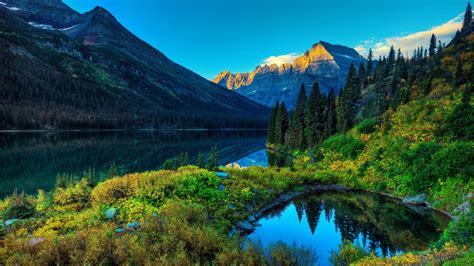 Lake Mountain Scenery Wallpapers | HD Wallpapers | ID #12395