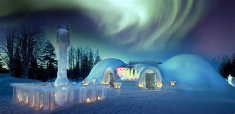 Snow Hotels and Igloos - Alternative Accommodation in