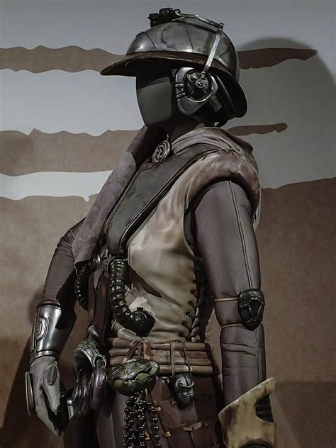 Female Bounty Hunter Zam Wesell from Star Wars: Attack of