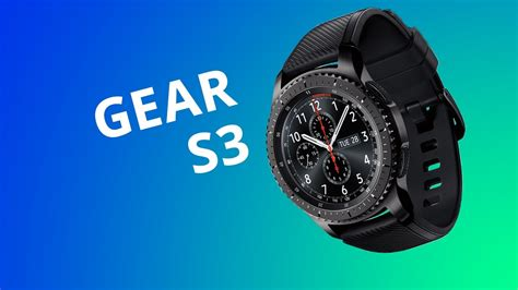 Smartwatch Samsung Gear S3 Frontier [Análise/Review] - YouTube