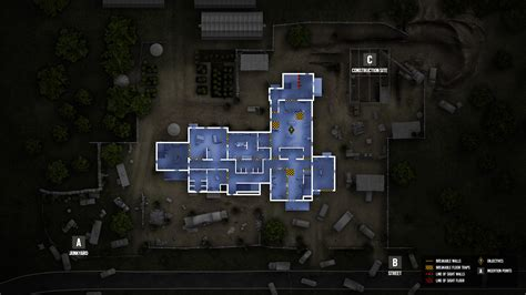 R6 Siege Blueprints