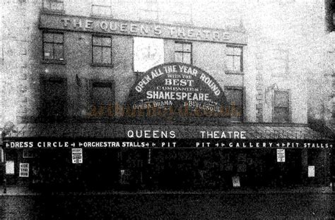 The Queen's Theatre, Bridge Street, Manchester
