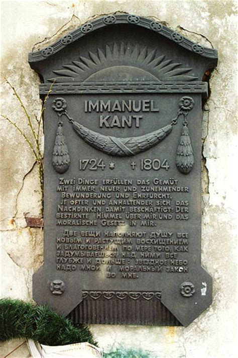Kant's Tombstone in Kaliningrad | The Core Curriculum