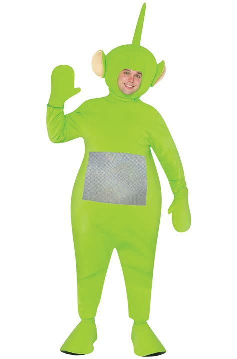 Teletubbies Dipsy Adult Costume - PureCostumes