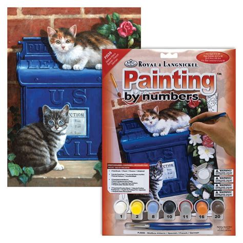 Paint By Numbers - Mailbox kittens | BRAOGBILLIG