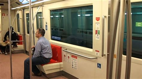 The gate transfer train from Gates A to Gates B & C at