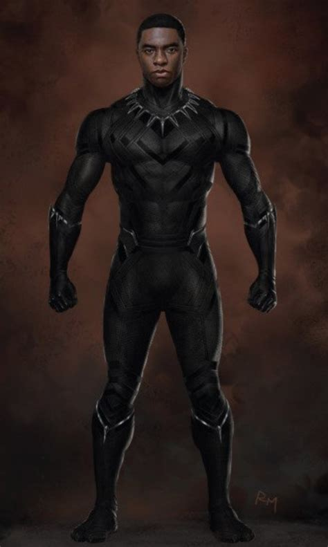 Details on Black Panther's Costume in CIVIL WAR with