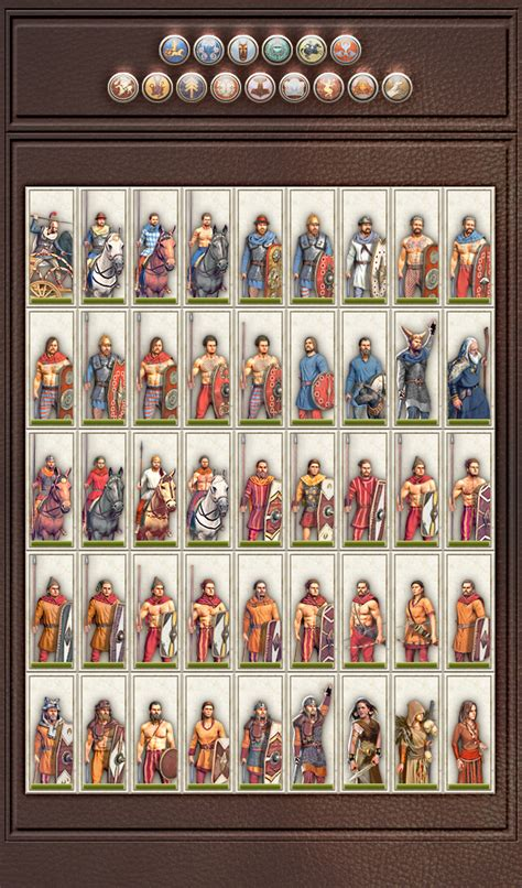 """Total War: Rome 2 """"Normal's Rome II Units Icons mod v2"""